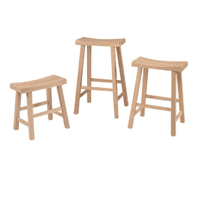 18 H Saddle Stool Murphy S Furniture